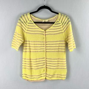 Moth Anthropologie Button Front Sweater